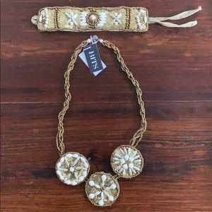 31 Bits Bracelet and Necklace Set
